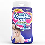 Mamypoko Pants Extra Absorb Baby Diapers, M 40 Pieces