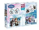 Disney Frozen - Superkit 4 en 1 (Clementoni 08208)