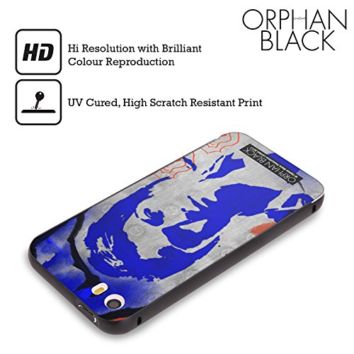 Ufficiale Orphan Black Tony Felix Opera Darte Nero Cover Contorno con Bumper in Alluminio per Apple iPhone 6 Plus / 6s Plus Beth