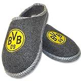 Borussia Dortmund Filzpantoffel / Pantoffel / Hausschuhe Emblem BVB 09