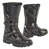 18405942/800 - Akito Latitude Motorcycle Boots 42 Black (UK 8)