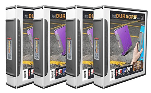 STOREX DURAGRIP 1Binder Case of 4 (1 Staples 3-ring Binder)