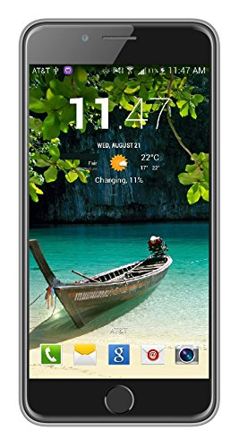 I KALL K1, 5 Inch Display (1+8GB) 4G Volte Dual Sim Calling Smart Phone With 2200 Mah Long Lasting Battery And 1 Year Warranty- Silver