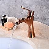 Waschbecken Einhebelmischer, chrom Bad Armatur europäischen Antik Kupfer Wasserhahn Bronze