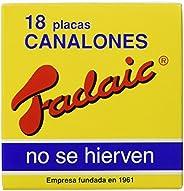 Fadaic - Pasta Canelones Laminada Carton - 18 Canelones - 80 g