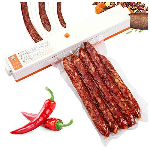 Vakuumiergerät Compact Food Sealer Automatische Vakuummaschine, Tragbarer Vakuumiergerät (Mahlzeit Vakuumierer)