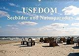 USEDOM - Seebäder und Naturparadies (Wandkalender 2018 DIN A2 quer): Die große Insel Usedom verzaubert mit ihrer vielfältigen Natur und weißen ... ... [Kalender] [Apr 01, 2017] Art-Motiva, k.A.