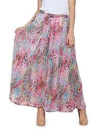 Ayaany Women's Trendy Polyester Plazzo
