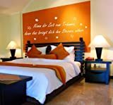Wandtattoo Nimm dir Zeit zum Träumen Nr.104 Wandaufkleber Wandmotiv (Größe: 1,54m x 0,54m)
