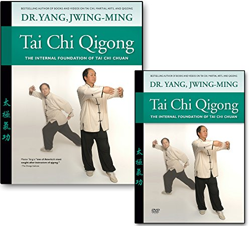 Bundle: Tai Chi Qigong DVD and book for Beginners (YMAA) Dr. Yang, Jwing-Ming