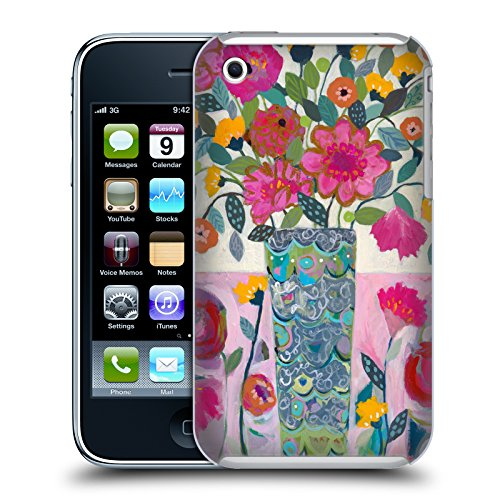 Ufficiale Carrie Schmitt Casa Di Girasole Floreale Cover Retro Rigida per Apple iPhone X Vaso Eccezionale