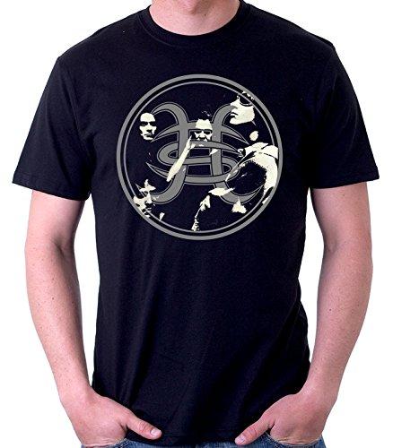 35mm - Camiseta Hombre - Heroes Del Silencio - Avalancha - T-Shirt, NEGRA, XL