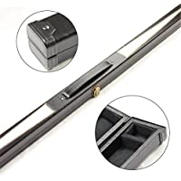 WHITE STAR 1 Piece Snooker Pool Cue Case - 149cm Max Cue Length