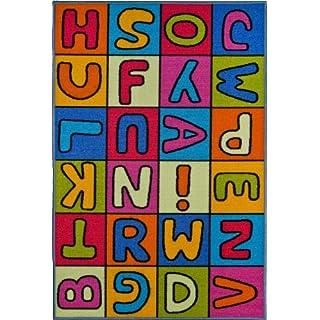 andiamo 1100125 Children's Rug 80 x 120 cm with Letters of the Alphabet Design
