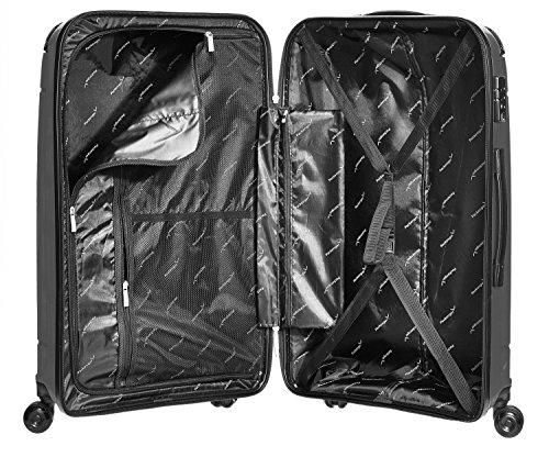 Packenger Koffer Silent Hartschale XL Koffer, 109 Liter, Schwarz - 4