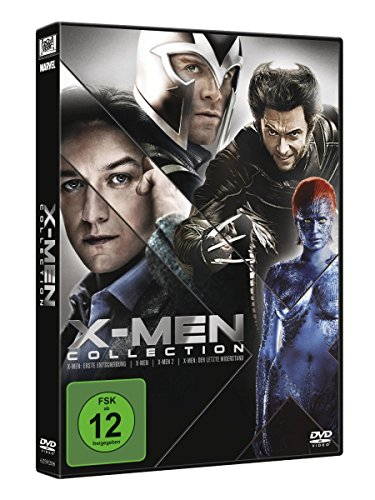 X-Men Movies Collection (inkl. X-Men Erste Entscheidung, X-Men, X-Men 2, X-Men 3) (4 DVDs)