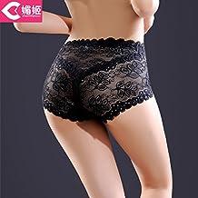 RRRRZ*Artículo 3 procesador mayor Sra. Lei seda ropa interior sexy ropa interior femenina delgada transparente sin marcado , código son negras