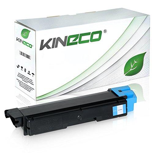 Preisvergleich Produktbild Toner kompatibel zu Kyocera TK580C ECOSYS P6021 CDN FS-C 5150 DN - 1T02KTCNL0 - Cyan 3.000 Seiten