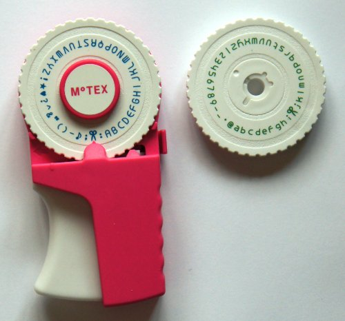 motex-e-303-pink-emoticon-pragung-label-maker