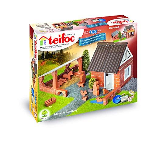 Teifoc - 2042823 - Jeu De Construction En Briques - Ferme