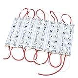 Sourcingmap  - Dc12v llevó 5730 smd 30 el módulo llevado tira de decoración de la lámpara de luz de 5,3 'de largo