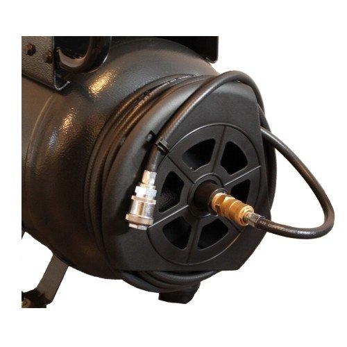 Preisvergleich Produktbild Schlauchtrommel-Kit zur Montage an 24-200Ltr. Kessel m.10 Mtr.Sc