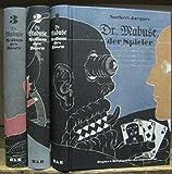 Dr. Mabuse - Medium des Bösen. Komplett mit den Bänden I - III : Dr. Mabuse, der Spieler ( mit einem Dossier zum Film von Fritz Lang, Zeichnungen von Theo Matejko, Filmbildern und faksimilierten W ...