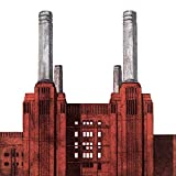 Barry Goodman Battersea Power Station su tela, 40 x 40 cm, motivo: impronte, colore: multicolore