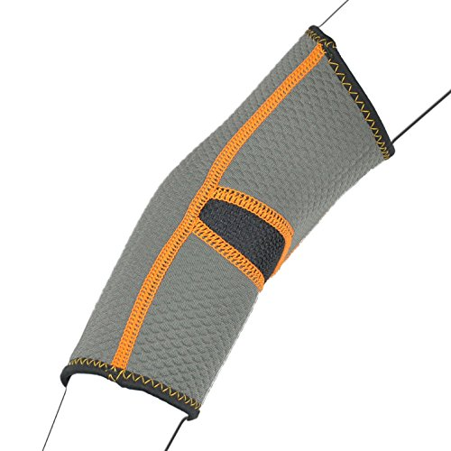 PX9Atmungsaktive Neopren Tennis Golfer Ellenbogen-Bandage Wrap Arm Halteband Band Gym Sport Arthritis (Neo Tennis-ellenbogen Ärmel)