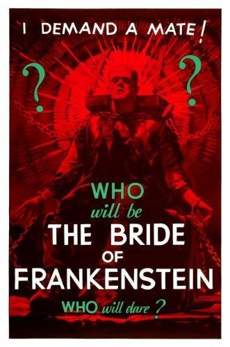 Posters Bride of Frankenstein Film Mini-Poster 28 cm x43cm 11inx17in -