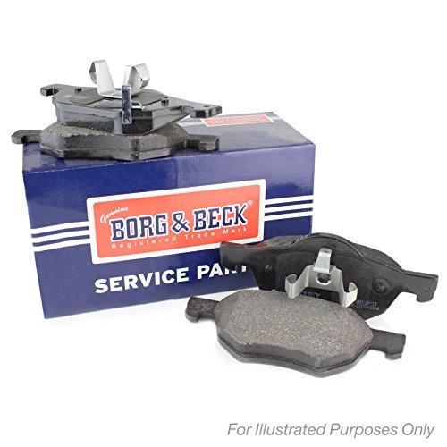 Borg & Beck BBP2125 Kit pastiglie freno