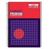 Luxor 6 Subject Spiral Premium Exercise Notebook, Single Ruled - (21cm x 29.7cm)