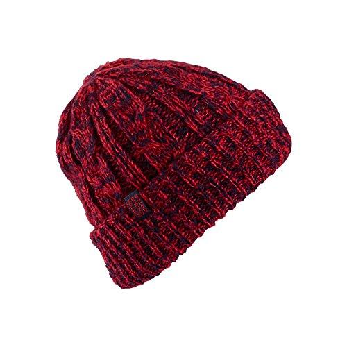 Burton Damen Mütze BONE COBRA BEANIE Coral/Mood Indigo One ()
