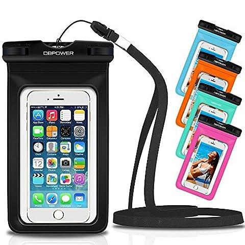 DBPOWER Housse Étanche Universelle Étui Étanche Coloré pour iPhone 6/6s/6plus/6splus,