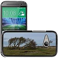 Carcasa Funda Prima Delgada SLIM Casa Case Bandera Cover Shell para // M00307962 Isola Albero Bush Natura // HTC One Mini 2 / M8 MINI / (Not Fits M8)