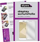 dipos I 2X Schutzfolie klar kompatibel mit Xiaomi Redmi 4X Folie Bildschirmschutzfolie
