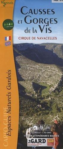 Causses et Gorges de la Vis : Cirque de Navacelles 1/30 000
