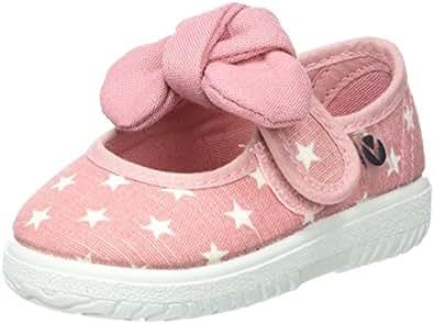victoria Unisex-Kinder Mercedes Lurex Estrellas Sneaker, Pink (Rosa), 27 EU