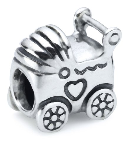 Pandora Damen-Bead  Sterling-Silber 925 Kinderwagen KASI 79346