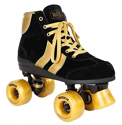 Rookie Rollerskates Authentic V2 RKE-SKA-2163 (Black Gold) Gr. 40.5