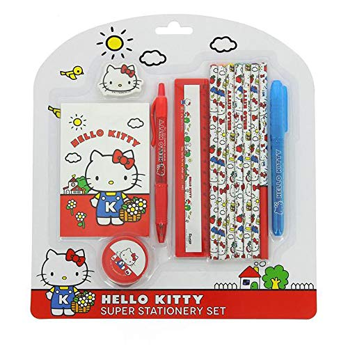 bfdc6d4e55 Official Licensed Children's Vintage Collection Hello Kitty Super  Stationery Set