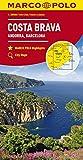 MARCO POLO Karte Costa Brava, Andorra, Perpignan, Barcelona 1:200 000 (MARCO POLO Karten 1:200.000) - Collectif