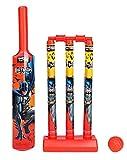 #3: Zitto Batman Mini Cricket Set with 1 Plastic Bat and Ball, 3 Wickets, Base and Bail