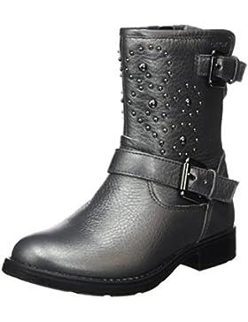 Geox Mädchen Jr Sofia D Biker Boots