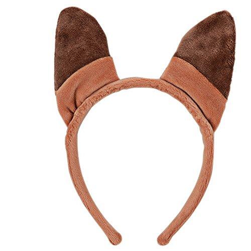 hen Ohren Kopfband Haar Hoop für Kinder Kinder Erwachsene, Rot, DX007 (Am Besten Kaufen Sie Halloween)