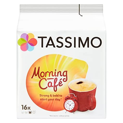 Tassimo Morning Cafe Coffee Pods (Pack of 5, 80 pods in total, 80 servings) 51csWz 2BTbgL