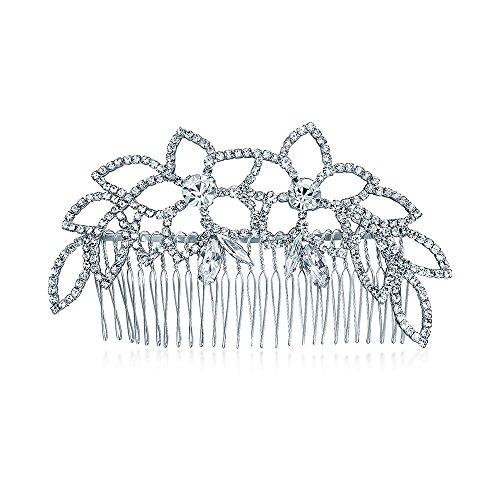 bling-jewelry-cristalli-prato-foglia-principessa-collaterali-bridal-tiara-pettine