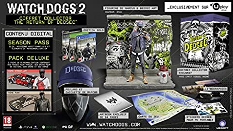 Watch Dogs Xbox - Watch Dogs 2 - Édition Collector The