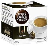 Nescafé Dolce Gusto Dallmayr Crema d'Oro Kaffeekapseln (100% Arabica Hochlandbohnen, Feinste Crema und vollmundiges Aroma, aus nachhaltigem Anbau, Blitzschnelle Zubereitung) 3er Pack (3 x 16 Kapseln)