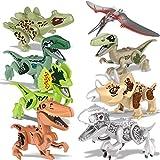 Figuras Dinosaurios Mini Dinosaurios Juguete Dinosaurio Ladrillos 8Pc Jugar